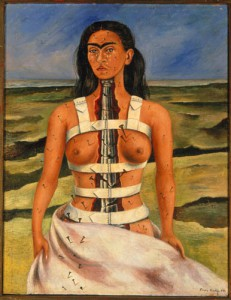 The Broken Column, Frieda Kahlo